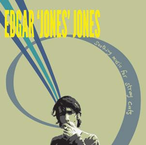 Edgar Jones Jones Soothing music for Stray Cats Vinyl Reissue - Sleeve